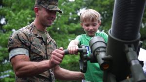 Fleet Week New York Marine Day