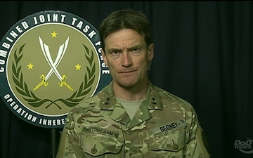 Operation Inherent Resolve Official Briefs Reporters