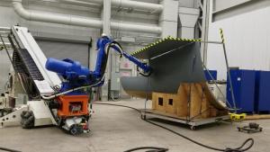 AFRL demos advanced robotics for aerospace manufacturing