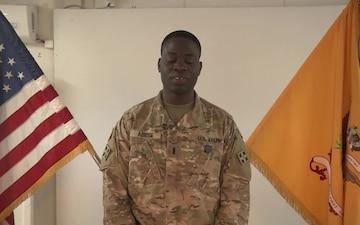 1st Lt. Kareem Abiose