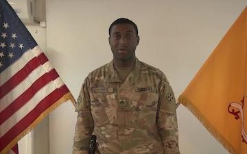 Sgt. Ishmael Cofer