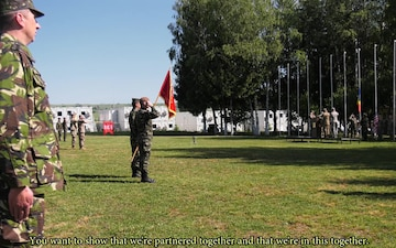 US, Romanian Army Celebrate Opening Ceremony of Resolute Castle 18 (Social Media)