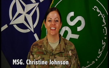 2018 Mother's Day shout-out from Afghanistan
