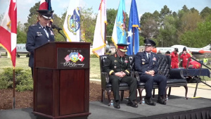 Vice Chairman Speaks at NORAD 60th Anniversary Event