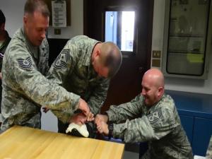 3 Af CCC packs parachutes