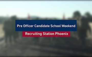 Officer Candidates Train to Earn the Title