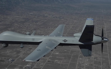 MQ-9 Reaper in flight 2