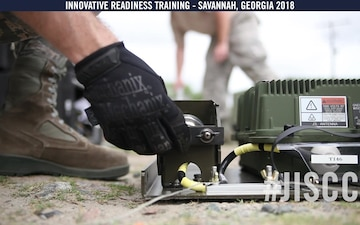 166th JISCC provides communication support for Innovative Readiness Training Savannah 2018