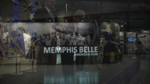 Memphis Belle Exhibit Opening