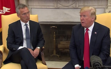 Visit by the NATO Secretary General to the United States of America, Oval Office