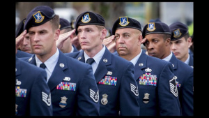 Sheppard Air Force Base's Blue Berets