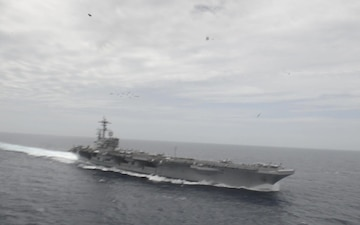 U.S. & French Navy Flyover for Chesapeake 2018