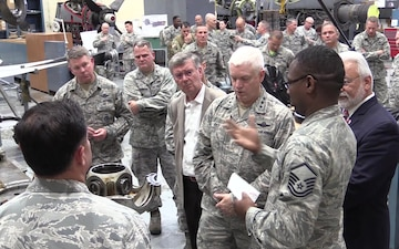 Air National Guard Director visits 136th Airlift Wing