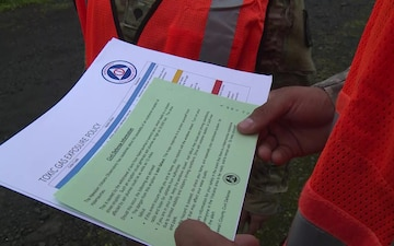 Hawaii National Guardsmen Go Door to Door
