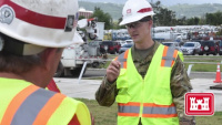 USACE logs the logistical miles to account for grid restoration materials