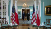 Secretary of State Pompeo Meets with Polish Foreign Minister Jacek Czaputowicz (camera spray)