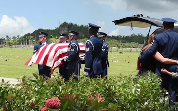 156th Airlift Wing Airman Laid to Rest