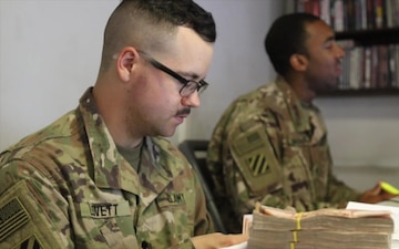 Rodeos Bring Finance to Soldiers in Afghanistan