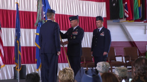 99 Air Base Wing Change of Command