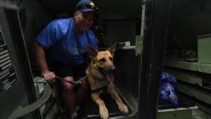 USS Arlington Seeing Eye Dog Tour