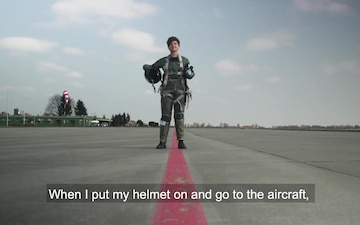 #WeAreNATO - Poland's first female MiG-29 fighter pilot - Master with Subtitles