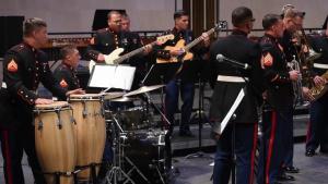 Marines Perform Concert in Honor of Belleau Wood 100 Year Anniversary