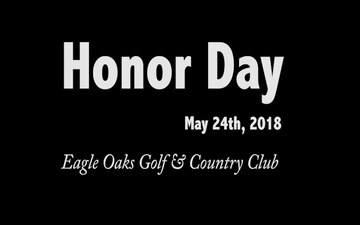 Honor Day 2018 at Eagle Oaks Golf & Country Club