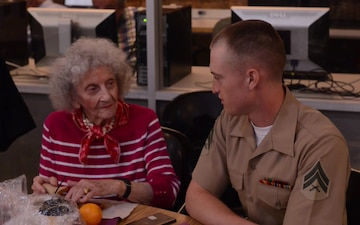 Marines give back to local community