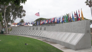 The Vietnam Unit Memorial Monument, Naval Amphibious Base, San Diego