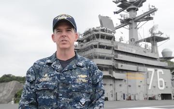 USS Ronald Reagan departs Yokosuka for Summer Patrol
