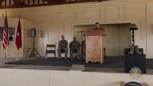 LTG Funk Memorial Day Camp Taji Iraq