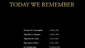 Today We Remember