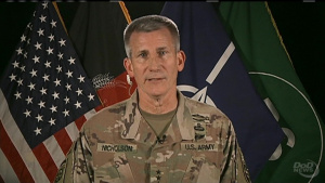 Resolute Support Mission Commander Holds News Briefing