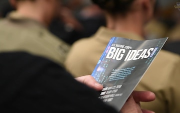 Marine Corps Students Share Their Big Ideas During Latest BIX