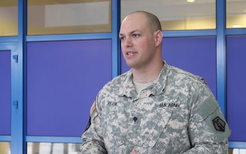 406th Human Resource Company Supports Saber Strike 18