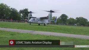 Fleet Week NYC 2018 Comrel and Aviation Static Display Event