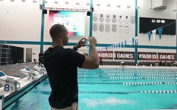 DoD Warrior Games Head Swimming Coach Atiba Wade