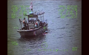 Coast Guard ANT Seattle rescues canoeist
