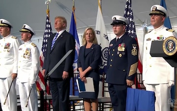 U.S. Coast Guard Change Of Command and Retirement Ceremony