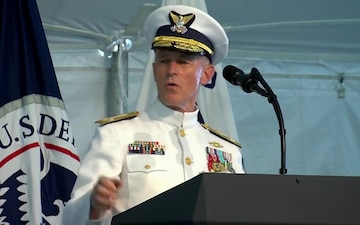 Retirement Ceremony Honors Outgoing Coast Guard Commandant