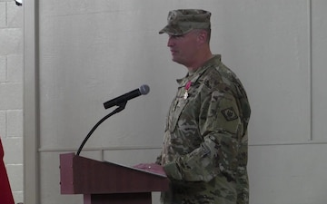 66 Troop Command Change of Command (Social Media)