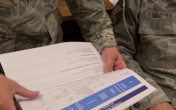 MSgt Kristy Copic discusses her role as a 1st Sgt
