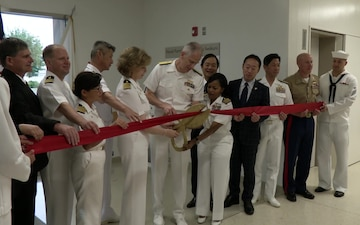 MCAS Iwakuni Branch Health Clinic can soon deliver babies (Package/Pkg)