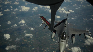 Spangdahlem F-16 Aerial Refueling