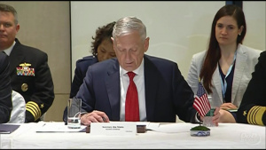 Mattis, Indo-Pacific Partners Discuss Security Issues at Singapore Summit
