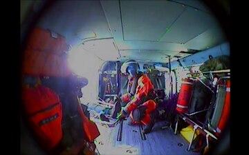 Coast Guard medevacs ill fisherman
