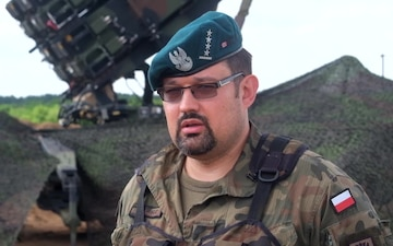 SaberStrike Interview with CPT Grzegorz Piskiewicz, Air Defense Officer, 12th Mechanized Division