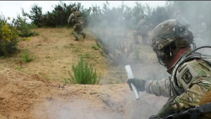 Sky Soldiers from 1-143rd Infantry Regiment Battle in Germany
