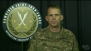 Inherent Resolve Spokesman Provides Update on Operations