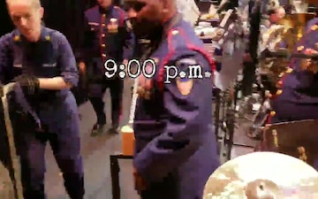 Coast Guard Band Time Lapse - Before and After Concert